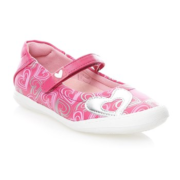 Ballerines en cuir - rose