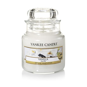 Yankee Candle - Vanille - Petite Jarre - blanc