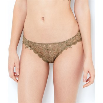 Etam Lingerie - Hollywood - Slip - caqui