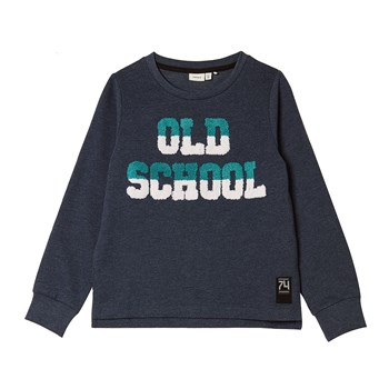 Sweat-shirt - bleu délavé