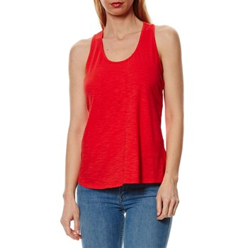 Top sans manches - corail
