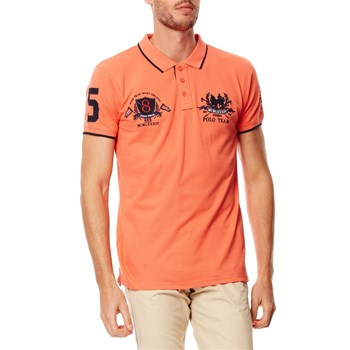 Polo-Shirt - orange