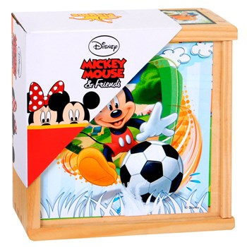 Mickey & Minnie - Puzzle 9 cubes