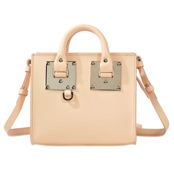Box Albion - Sac cabas en cuir - rose
