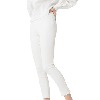 Pantalon coupe cigarette - blanc