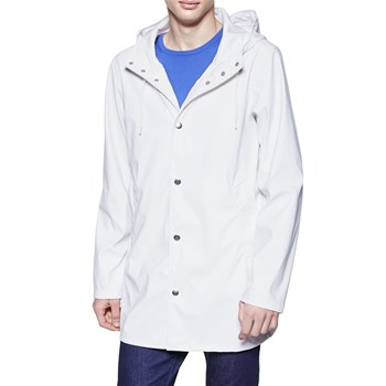 Forme trench, imperméable : Imperméable - blanc