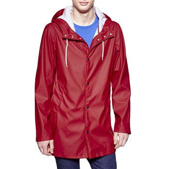 Forme trench, imperméable : Imperméable - rouge