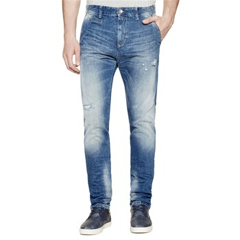 Jeans regular - jeansblau