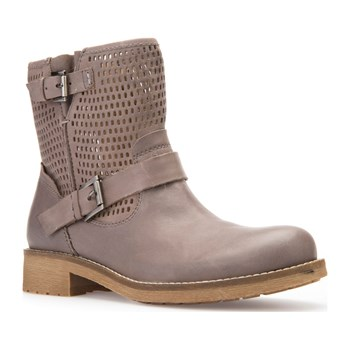 New Virna - Bottines en cuir - taupe