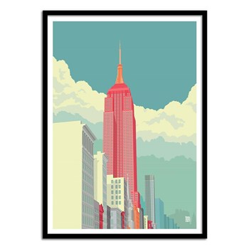 Wall Editions - 5th Avenue - Affiche art 50x70 cm