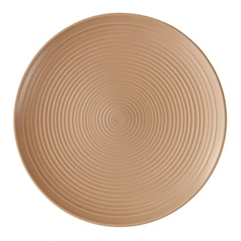 Assiette plate 26cm - taupe