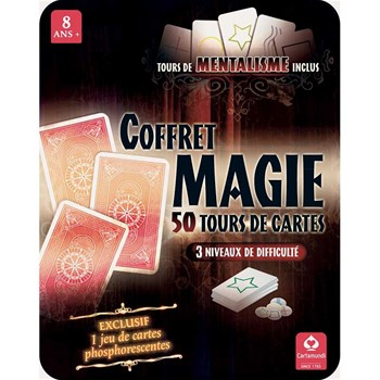 50 Tours - Coffret magie - multicolore