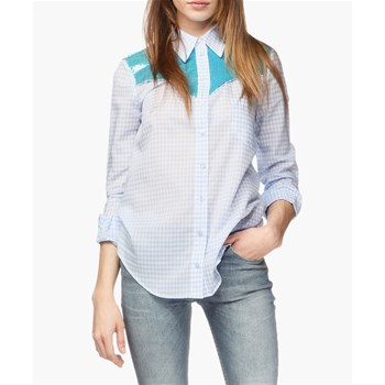 Ashley - Camisa - azul
