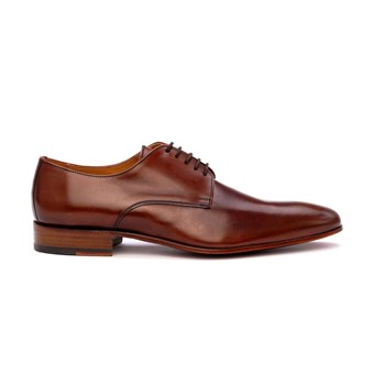 Derbies en cuir - marron