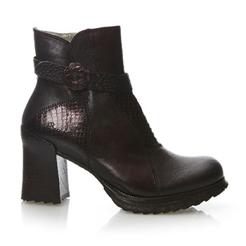 Luna - Bottines en cuir - bordeaux