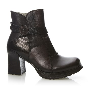 Luna - Bottines en cuir - taupe