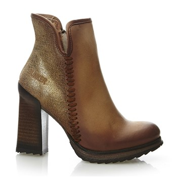 Hala - Bottines en cuir - beige