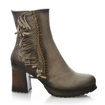 Fanny - Bottines en cuir - sable