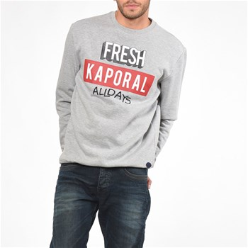 Sweat-shirt - gris clair