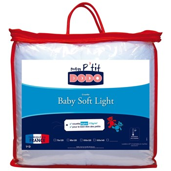 Dodo - Baby Soft Light - Couette anti-acariens - blanc