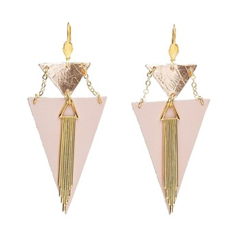 Charly James - Boucles d'oreilles - rose