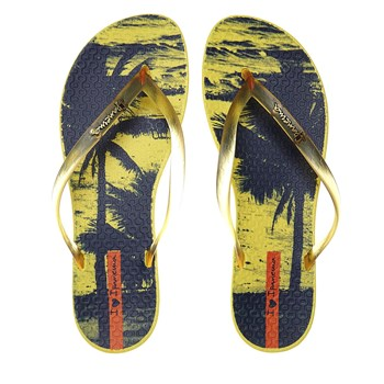 Wave Tropical - Tongs - jaune