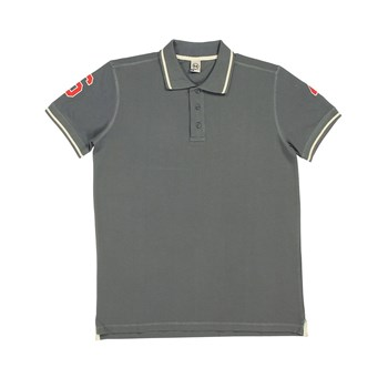 Double Patch - Polo - anthracite
