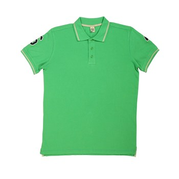 Double Patch - Polo - vert