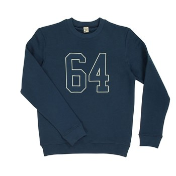 Double Patch - Sweat-shirt - bleu marine