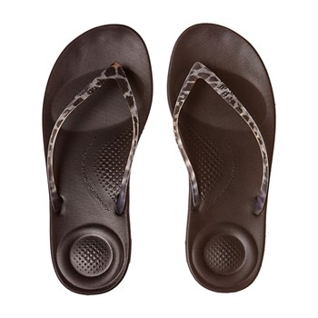 IQUSHION ERGONOMIC FLIP-FLOPS - Tongs - denim noir