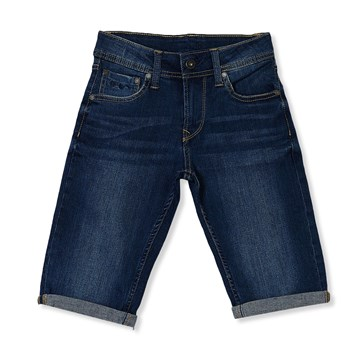 becket - Short - denim azul