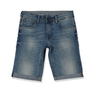 SCOTT JR - Short/Bermudas - jeansblau