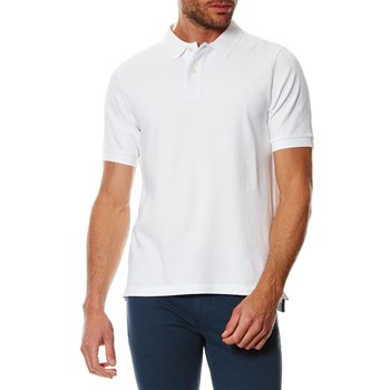 PIQUE POLO FITTED - Polo - bianco