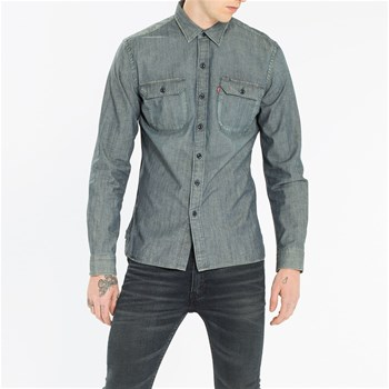 Jackson Worker Gritty - Chemise - gris