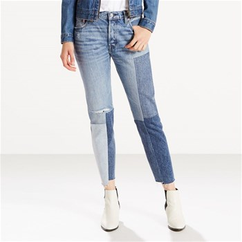 501 - Jean slim - denim azul