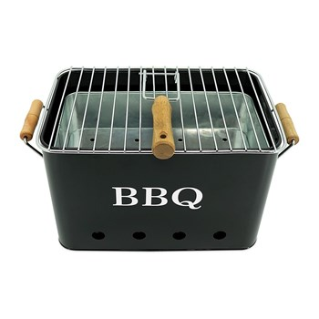 Potiron - BBQ - Mini barbecue - noir