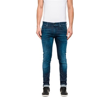 Replay - Jean skinny - denim azul