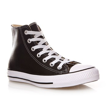 Chuck Taylor All Star Hi - Baskets montantes en cuir - noir