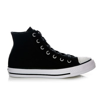 CHUCK TAYLOR ALL STAR HI BLACK/SILVER/BLACK - Baskets - noir