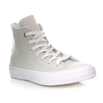 Chuck Taylor All Star Hi - Sneakers alte in pelle - écru