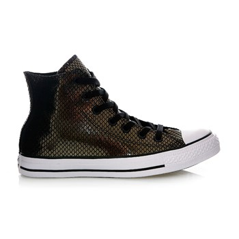 Chuck Taylor All Star Hi - Sneakers alte in pelle - nero