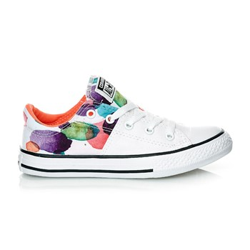 CHUCK TAYLOR ALL STAR MADISON OX WHITE/WILD MANGO/BLACK - Derbies - multicolore