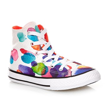 CHUCK TAYLOR ALL STAR HI WHITE/WILD MANGO/WHITE - Baskets montantes - multicolore