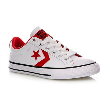 STAR PLAYER EV OX WHITE/CASINO/BLACK - Baskets - blanc