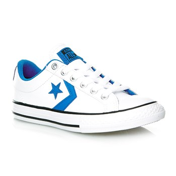 STAR PLAYER EV OX WHITE/SOAR/BLACK - Baskets - blanc