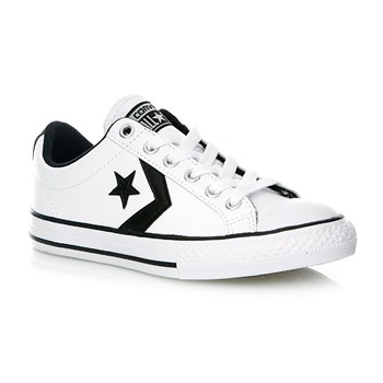 STAR PLAYER EV OX WHITE/BLACK/WHITE - Baskets - blanc