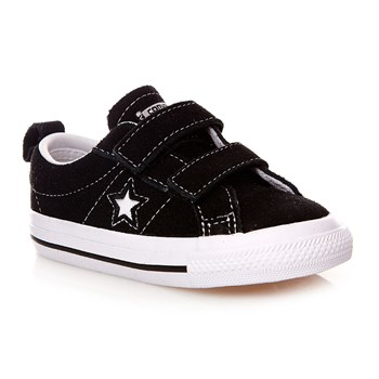ONE STAR 2V OX BLACK/WHITE - Baskets montantes - noir