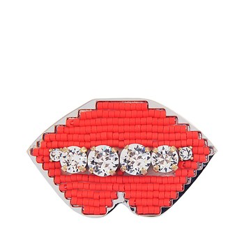 Shourouk - Broche - rouge