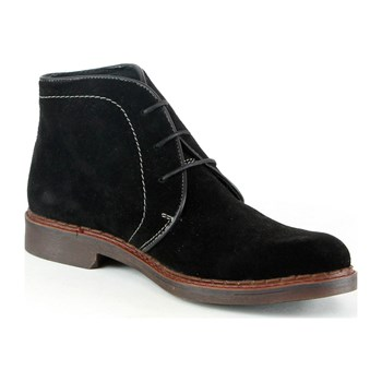 Derby in pelle - nero