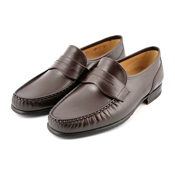 Alfio - Mocassins en cuir - marron